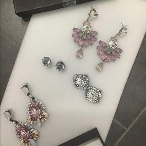 Bebe lot 4 earrings